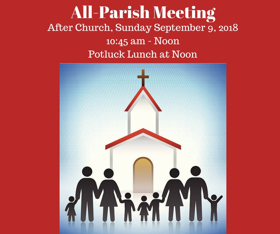 All Parish Meeting and Potluck